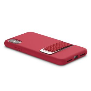 Чехол для iPhone XS/X (5.8'') Moshi Capto Slim Case with MultiStrap Raspberry Pink (99MO114303)