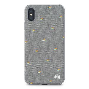 Чехол для iPhone XS MAX (6.5'') Moshi Vesta Slim Hardshell Case Pebble Gray (99MO116012)