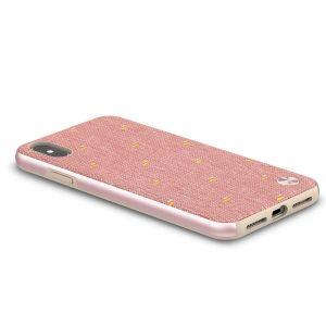 Чехол для iPhone XS MAX (6.5'') Moshi Vesta Slim Hardshell Case Macaron Pink (99MO116302)