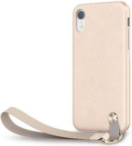 Чехол для iPhone XR Moshi Altra Slim Hardshell Case With Strap Savanna Beige (99MO117111)