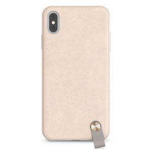 Чехол для iPhone XS MAX (6.5'') Moshi Altra Slim Hardshell Case With Strap Savanna Beige (99MO117112)