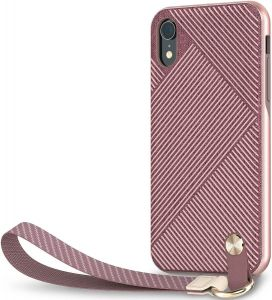 Чехол для iPhone XR Moshi Altra Slim Hardshell Case With Strap Blossom Pink (99MO117301)