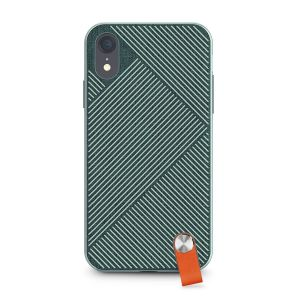 Чехол для iPhone XR Moshi Altra Slim Hardshell Case With Strap Mint Green (99MO117601)