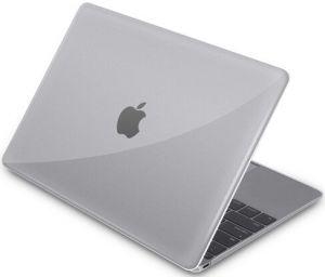 Чехол для MacBook Air 13'' (2018) Macally HardShell Protective Case Clear (AIRSHELLRET13-C)