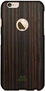 Деревянный чехол для iPhone 6/6S (4.7'') Evutec Wood S (0,9 mm) Ebony (AP-006-CS-W34)