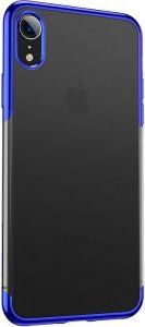 Чехол для iPhone XR (6.1'') Baseus Shining Case Blue (ARAPIPH61-MD03)