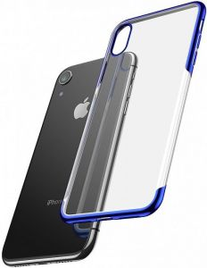 Чехол для iPhone XR (6.1'') Baseus Shining Case Blue (ARAPIPH61-MD03)