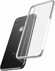 Чехол для iPhone XR (6.1'') Baseus Shining Case Silver (ARAPIPH61-MD0S)