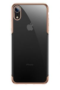 Чехол для iPhone XR (6.1'') Baseus Shining Case Gold (ARAPIPH61-MD0V)