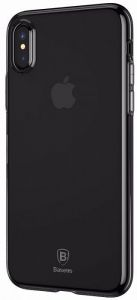 Чехол для iPhone XS Max (6.5'') Baseus Simplicity Series (basic model) Transparent Black (ARAPIPH65-B01)