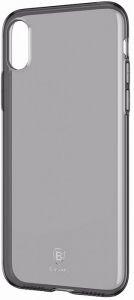 Чехол для iPhone XS Max (6.5'') Baseus Simplicity Series (basic model) Transparent Black (ARAPIPH65-B01)