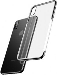 Чехол для iPhone XS Max (6.5'') Baseus Shining Case Black (ARAPIPH65-MD01)