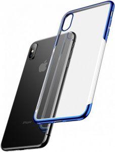 Чехол для iPhone XS Max (6.5'') Baseus Shining Case Blue (ARAPIPH65-MD03)