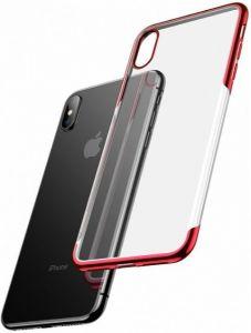 Чехол для iPhone XS Max (6.5'') Baseus Shining Case Red (ARAPIPH65-MD09)
