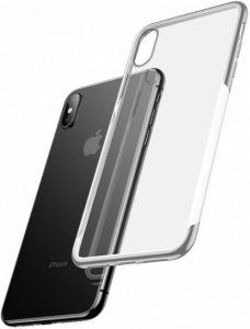 Чехол для iPhone XS Max (6.5'') Baseus Shining Case Silver (ARAPIPH65-MD0S)