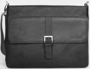 Кожаная сумка для ноутбуков до 13'' Issa Hara Original Man Black (B17(11-31))