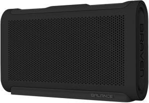 Портативная колонка Braven Balance Portable Bluetooth Speaker - Raven Black/Black/Black (BALBBB)