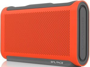 Портативная колонка Braven Balance Portable Bluetooth Speaker - Sunset Orange/Gray/Gray (BALOGG)