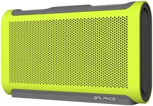 Портативная колонка Braven Balance Portable Bluetooth Speaker - Electric Lime (BALXGG)