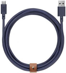 Кабель Native Union Belt Cable USB-A to USB-C Marine (3 m) (BELT-KV-AC-MAR-3)
