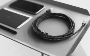 Кабель Native Union Belt Cable Lightning Cosmos Black (3 m) (BELT-KV-L-CS-BLK-3)
