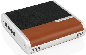 Портативная колонка Braven Bridge Speaker and Conferencing device - Black/Light Brown/Silver (BRGBLNS)