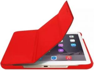 Чехол для iPad Mini 4 Macally Case and Stand Red (BSTANDM4-R)