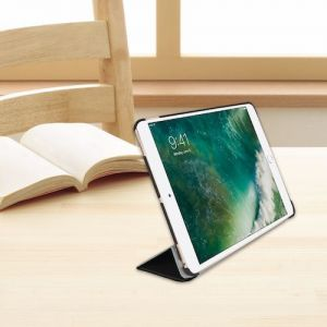 Чехол для iPad Pro 10.5'' (2017) Macally Protective Case & Stand Black (BSTANDPRO2S-B)