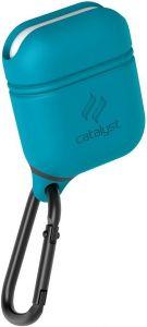 Водонепроницаемый чехол для зарядного кейса AirPods 2/1 Catalyst Waterproof AirPods Case Glacier Blue (CATAPDTEAL)