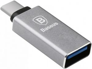 Переходник Baseus Sharp Series Type-C Adapter Dark Gray (CATYPEC-AD0G)