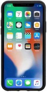 Чехол для iPhone XS MAX (6.5'') Native Union Clic Canvas Black (CCAV-BLK-NP18L)