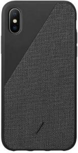 Чехол для iPhone XS/X (5.8'') Native Union Clic Canvas Black (CCAV-BLK-NP18S)