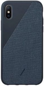 Чехол для iPhone XS MAX (6.5'') Native Union Clic Canvas Navy (CCAV-NAVY-NP18L)