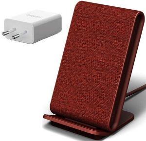 Беспроводное зарядное устройство с функцией подставки iOttie iON Wireless Fast Charging Stand Red (CHWRIO104RDEU)