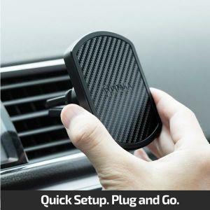 Автодержатель (до 7'') Pitaka Magnetic Mount Pro Car Vent Black (CM002)