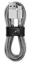 Кабель Native Union Tom Dixon Stash Coil Lightning Cable Silver (1.2 m) (COIL-L-SIL-TD)