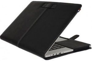 Кожаный чехол Decoded Leather Slim Cover для MacBook Pro 15'' Retina (2012-2015) Black (D4MPR15SC1BK)