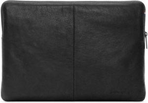 Кожаный чехол для MacBook Air 11'' / 12'' Retina Decoded Leather Sleeve with Zipper Pocket Black (D4SS12BK)
