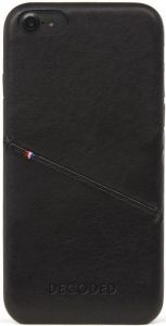 Кожаный чехол для iPhone 8/7/6/6S (4.7'') DECODED Leather Back Cover Black (D6IPO7BC3CBK)