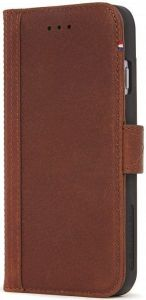 Кожаный чехол для iPhone 8/7/6/6S (4.7'') DECODED Leather Wallet Case Brown (D6IPO7WC3CBN)