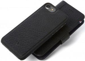 Кожаный чехол для iPhone 8/7/6/6S (4.7'') DECODED Leather 2-in-1 Wallet Case Black (D6IPO7WC4BK)