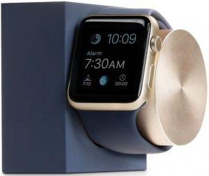 Подставка с поддержкой функции док-станции для Apple Watch Native Union Dock for Apple Watch Midnight Blue/Gold (DOCK-AW-SL-MAR)