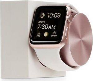 Подставка с поддержкой функции док-станции для Apple Watch Native Union Dock for Apple Watch Stone/Rose Gold (DOCK-AW-SL-STO)