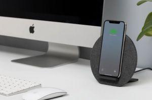 Беспроводное зарядное устройство Native Union Dock Wireless Charger Fabric Slate (DOCK-WL-FB-GRY)