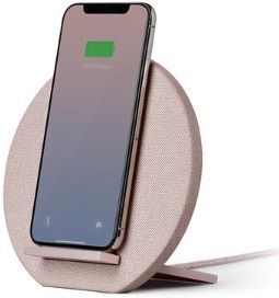 Беспроводное зарядное устройство Native Union Dock Wireless Charger Fabric Rose (DOCK-WL-FB-ROSE)