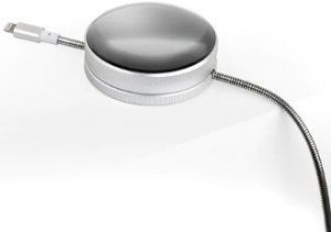 Кабель Native Union Tom Dixon Stash Dome Lightning Cable Silver (2 m) (DOME-L-SIL-TD)