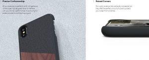Чехол для iPhone XS Max Nordic Elements Original Kollektion Case Hel Walnut (E20303)