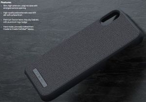 Чехол для iPhone XS Max Nordic Elements Original Kollektion Case Idun Dark Gray (E20305)