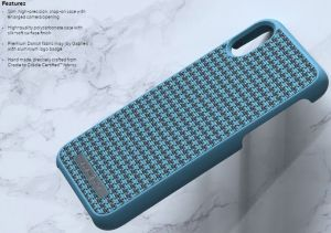 "Чехол для iPhone XS/X (5.8"") Nordic Elements Season Kollektion Case Idun Petrol Couture (E20253)"