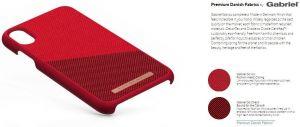 Чехол для iPhone XS Max Nordic Elements Season Kollektion Case Freja Red (E20316)